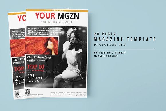 Magazine Template 28