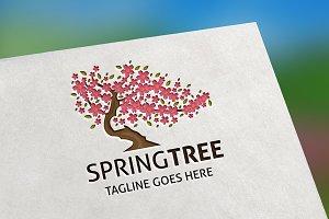 Spring Tree Logo