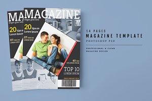 Magazine Template 32