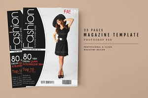 Magazine Template 33