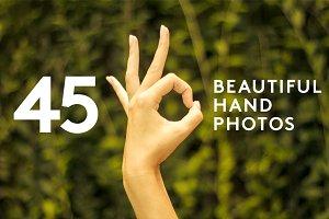 45 Hand Photo Pack