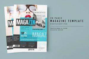 Magazine Template 34