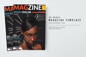 Magazine Template 35