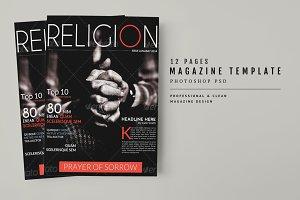 Magazine Template 37