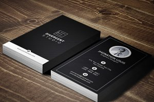 R E T R O Personal Business Card