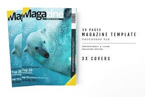 Magazine Template 39