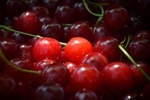 Sweet red cherry