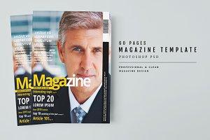 Magazine Template 40