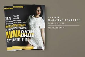 Magazine Template 41