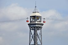 Cable car tower