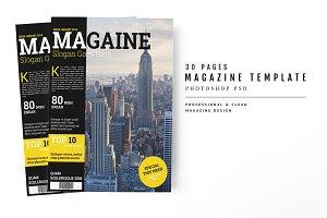Magazine Template 42