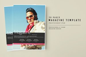 Magazine Template 43