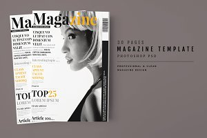 Magazine Template 45