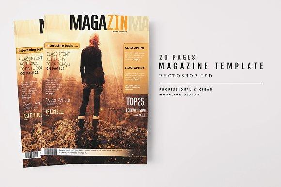 Magazine Template 46