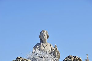 Madrid, Spain. Cibeles fountain