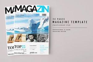 Magazine Template 47