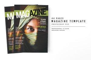 Magazine Template 50