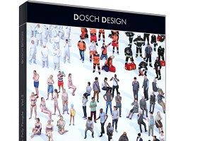 D3D LoPoly People Vol.2-3dsmax