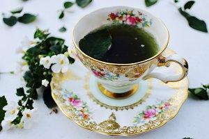 Green Tea & Bone China