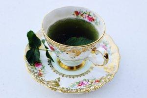Antique China Tea Time