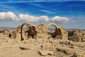 Ancient ruins near Pathos