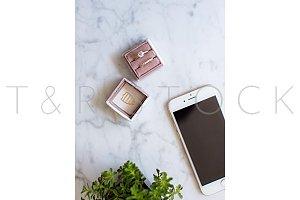 Phone Stock Photo Wedding Ring Box