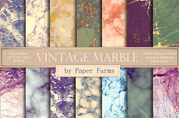 Vintage Marble Backgrounds