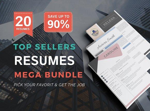 Top Selling Resume Super Bundle