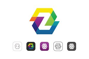 Simple Color Z Logo