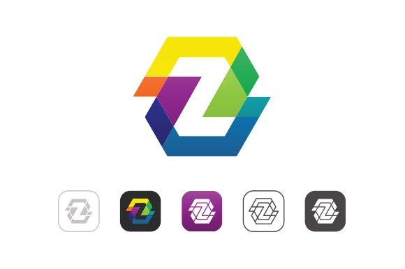 Simple Color Z Logo