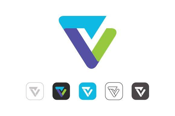Simple V Logo