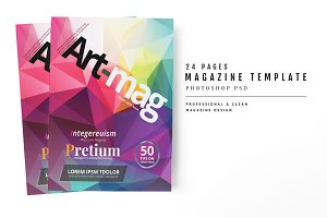 Magazine Template 52