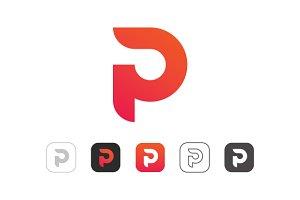 Simple P Logo