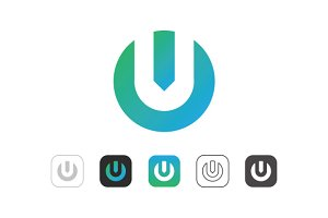 Simple U Power Logo
