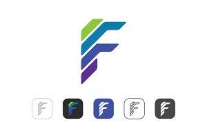 Simple F Logo