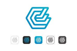 Simple E Logo