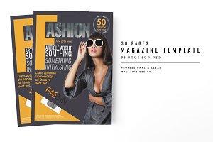 Magazine Template 53
