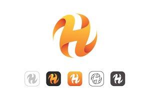 Simple H Logo