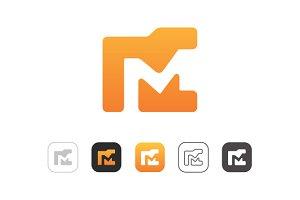 Simple Folder M Logo