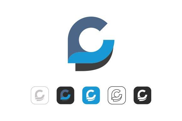 Simple C Logo ~ Logo Templates ~ Creative Market