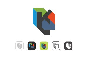 Simple K Logo