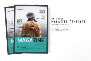 Magazine Template 54