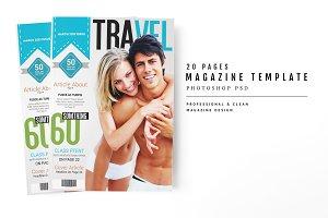 Magazine Template 55