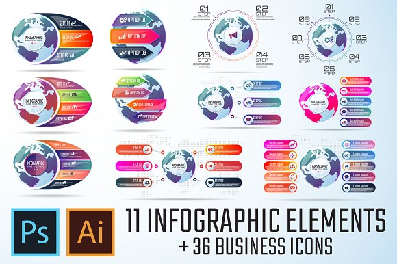 Infographics Template Vol.15