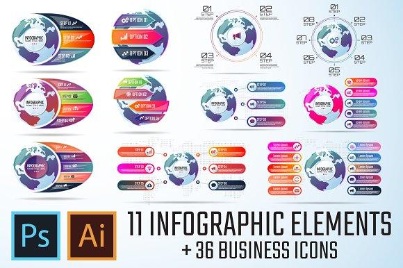 Infographics Template Vol.15
