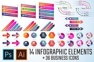 Infographics Template Vol.17