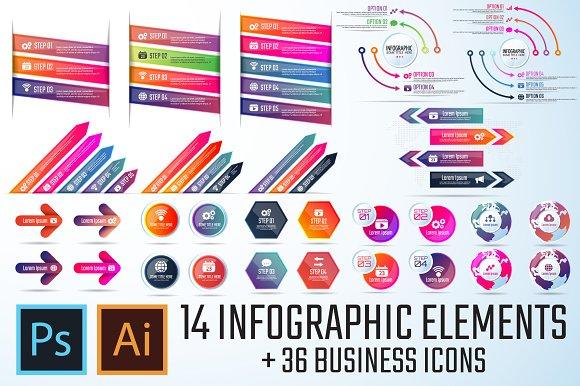 Infographics Template Vol.17