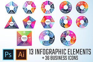 Infographics Template Vol.18