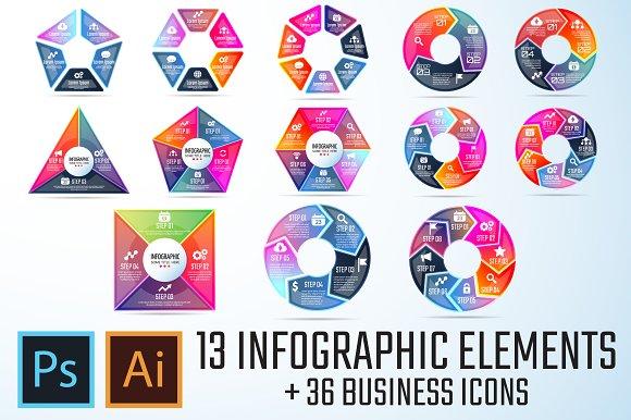 Infographics Template Vol.18