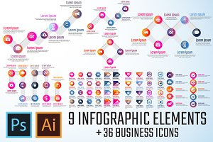 Infographics Template Vol.19